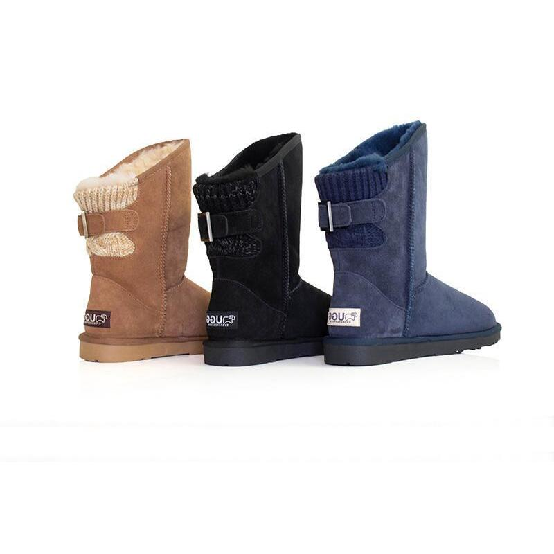 1bf7e63a9c7 Ever UGG Buckle Boots Juliet #11817