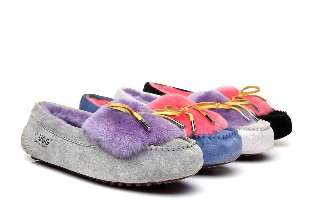 81e2bdd98a Ever UGG Ladies Fluffy Moccasin #11654