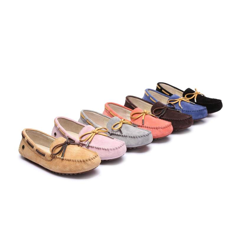 57079ff65f5 Ever UGG Ladies Summer Lace Moccasins 11622