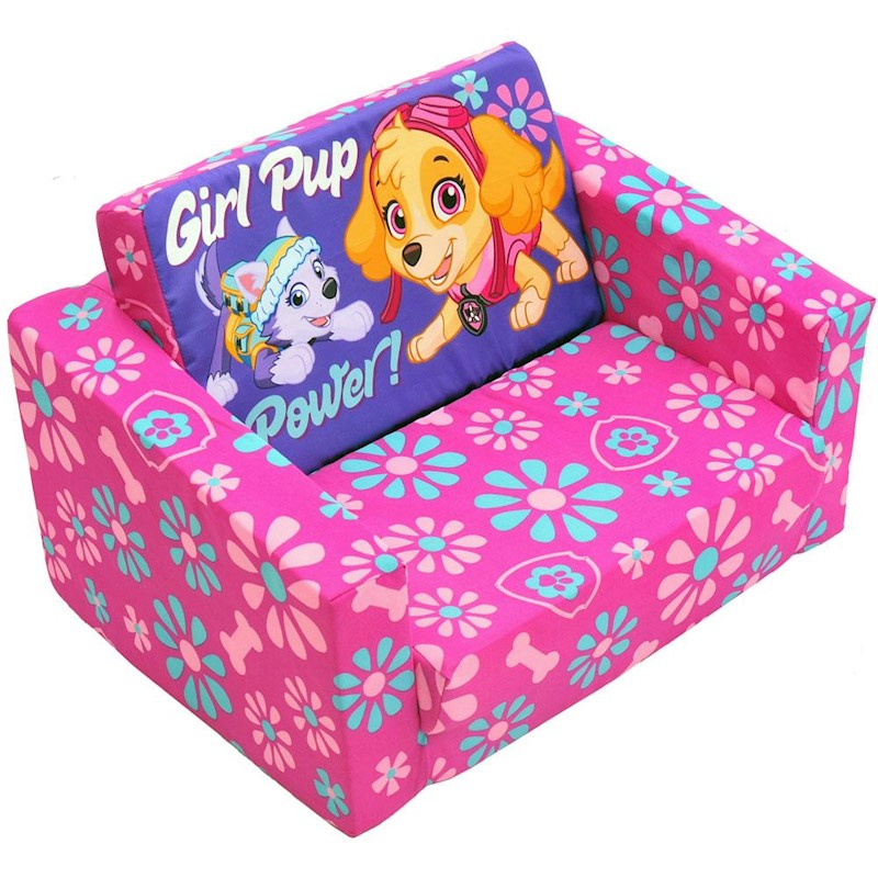 Paw Patrol Skye Kids Flip Out Sofa Buy Kids Sofas 608449