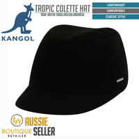 KANGOL Tropic Colette Ladies Hat 6759FA Military Cap Summer Style ... 8c6ad1c8abcf