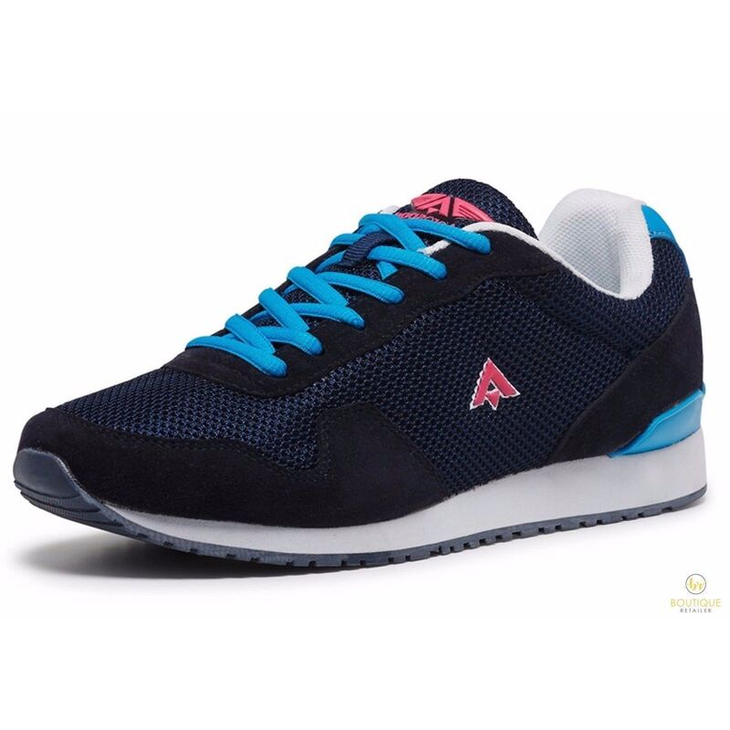 AEROSPORT Women s Retro Shoes Sports Runners Sneakers Gym Trainers ... c4cbd4f6a0