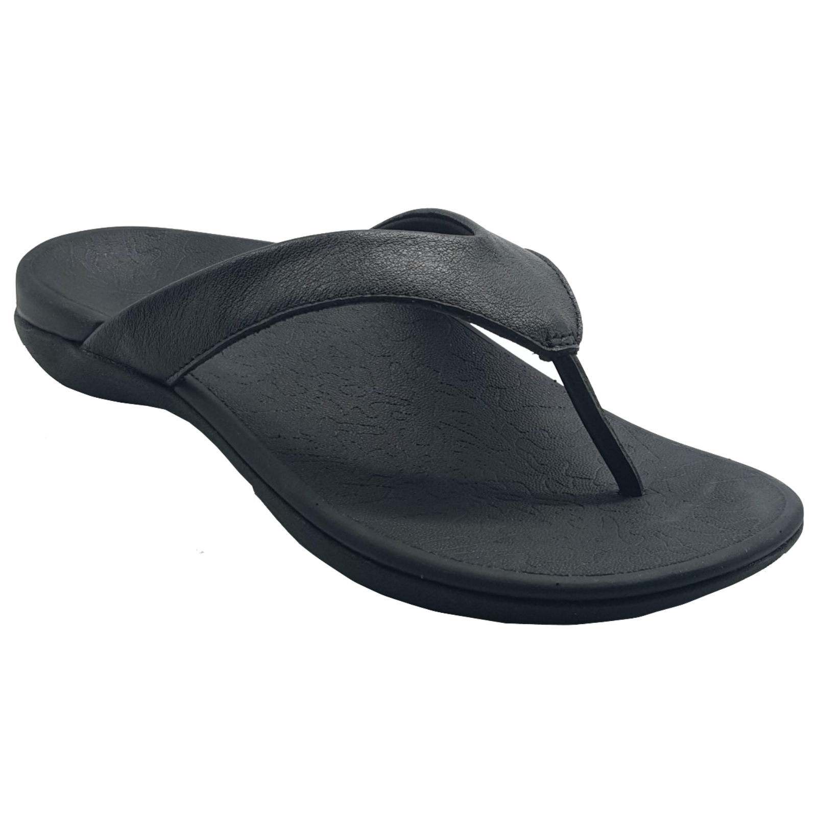 b0717ca57 h m s Remaining. AXIGN 90 Mile Orthotic Arch Support Flip Flops Thongs w  Leather Strap Archline