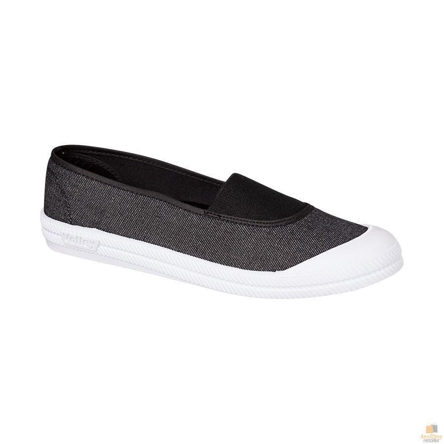 b744bd89c30e h m s Remaining. DUNLOP VOLLEY PIPER Women s Slip On Lace Free Shoes Casual  Canvas Volleys Flat