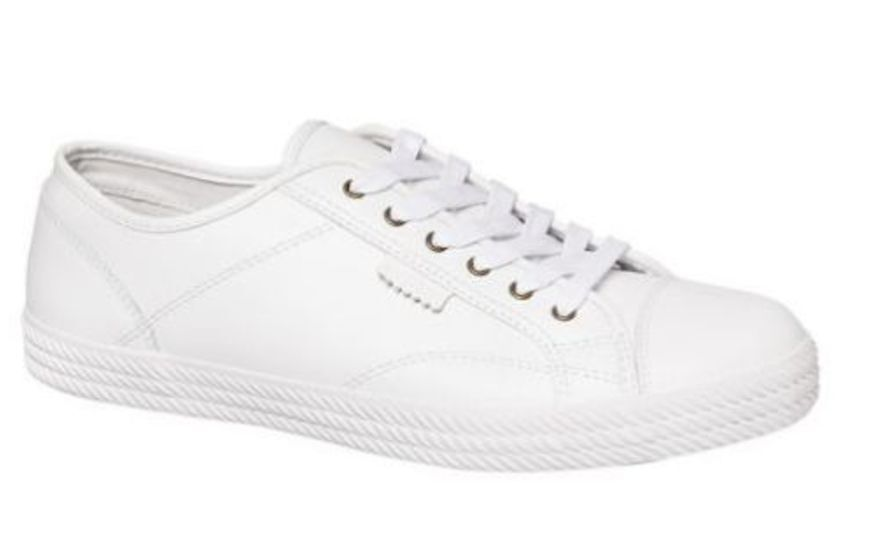 fb9e62d2bac4 h m s Remaining. DUNLOP VOLLEYS SS Premium Leather Sneakers Casual Lace Up  Shoes New