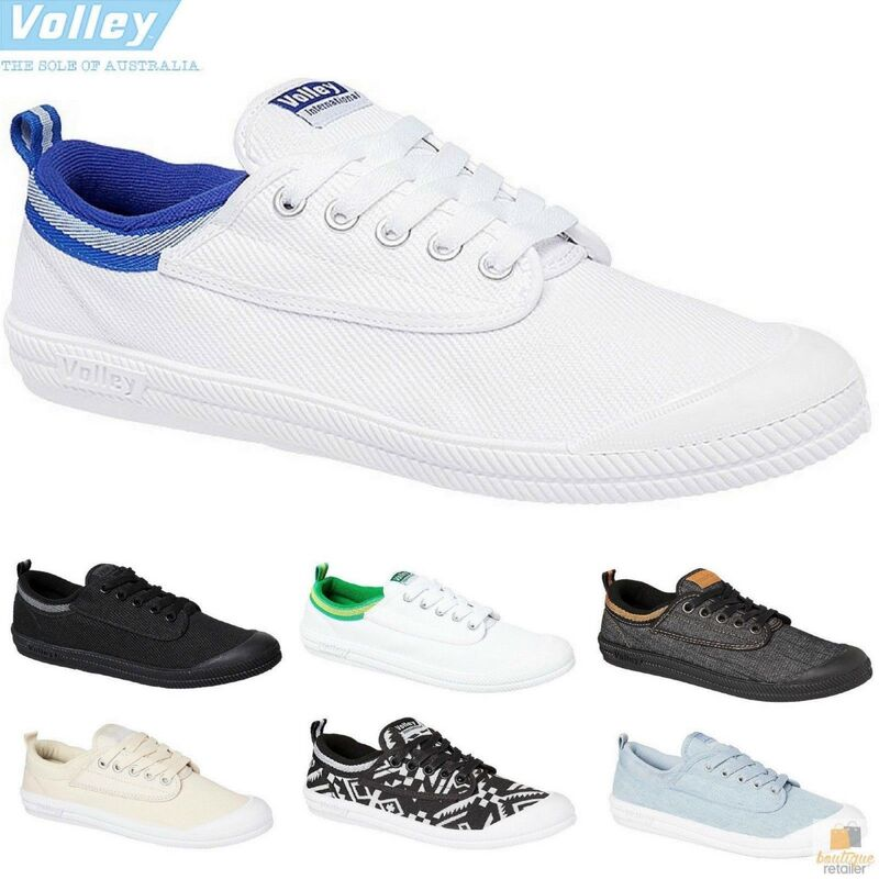 4692b6563244 h m s Remaining. DUNLOP VOLLEYS Volley International Men s Sneakers Casual  Lace Up Shoes Canvas