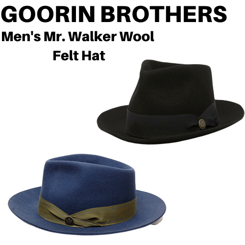 h m s Remaining. Goorin Brothers Men s Mr. Walker Wool Felt Fedora Hat 229de2b7e57f
