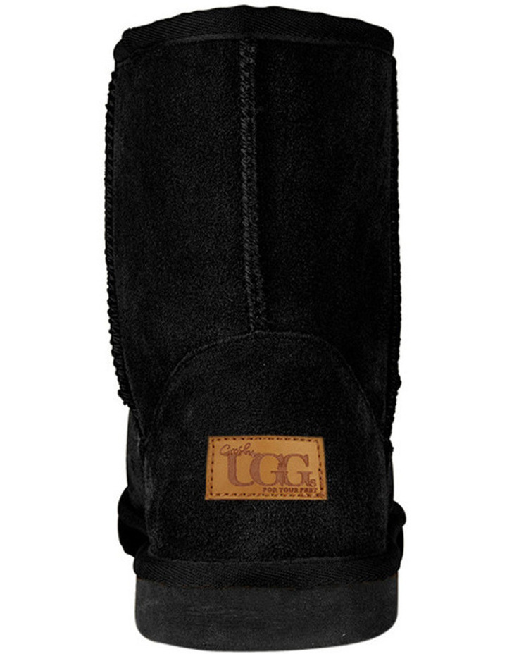 649bc1d408f GROSBY Jillaroo Women's UGG Boots Genuine Sheepskin Suede Leather Moccasins  - Black