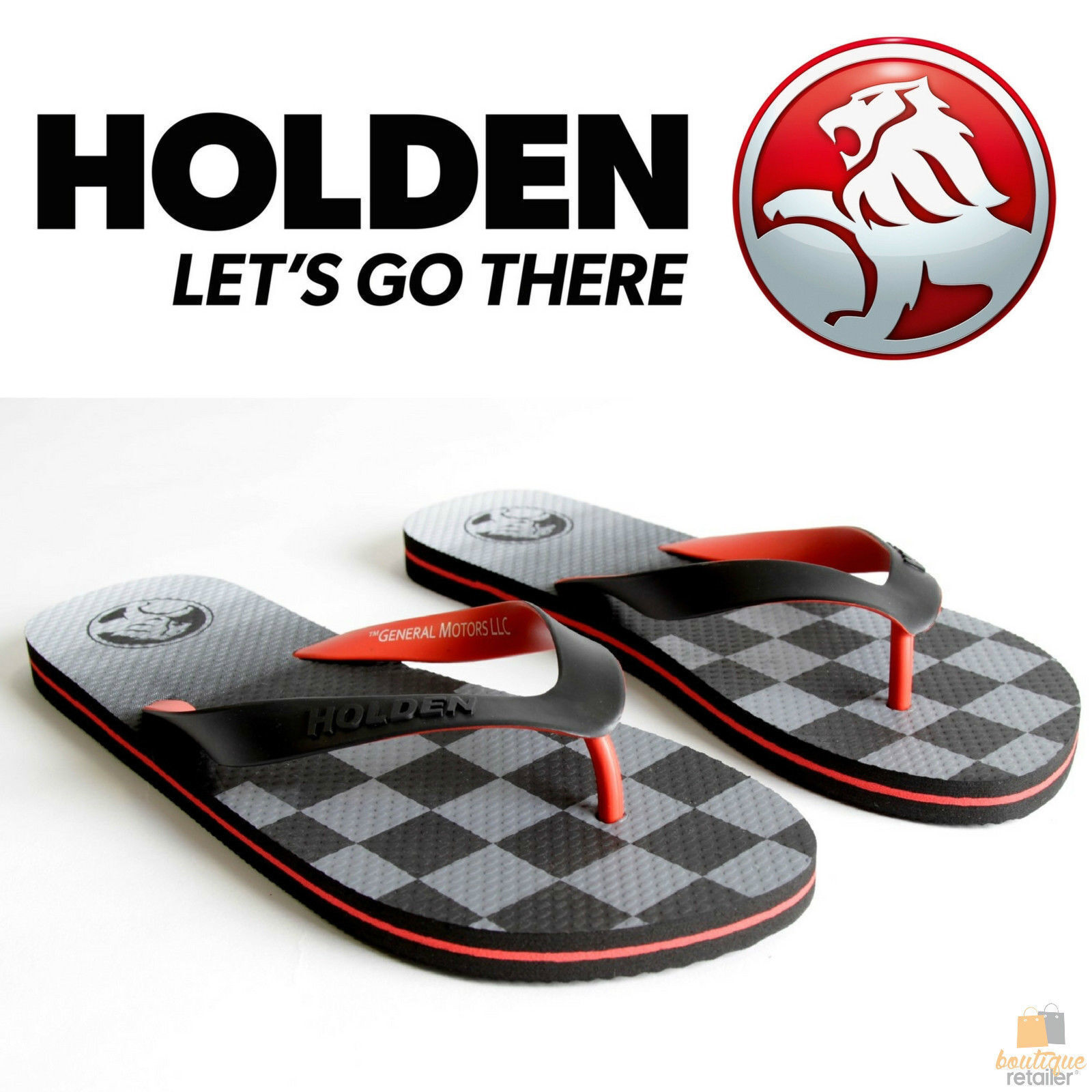 88ad349df h m s Remaining. HOLDEN Flag Thongs Flip Flops Mens Womens Sandals Shoes  OFFICIAL Slippers New