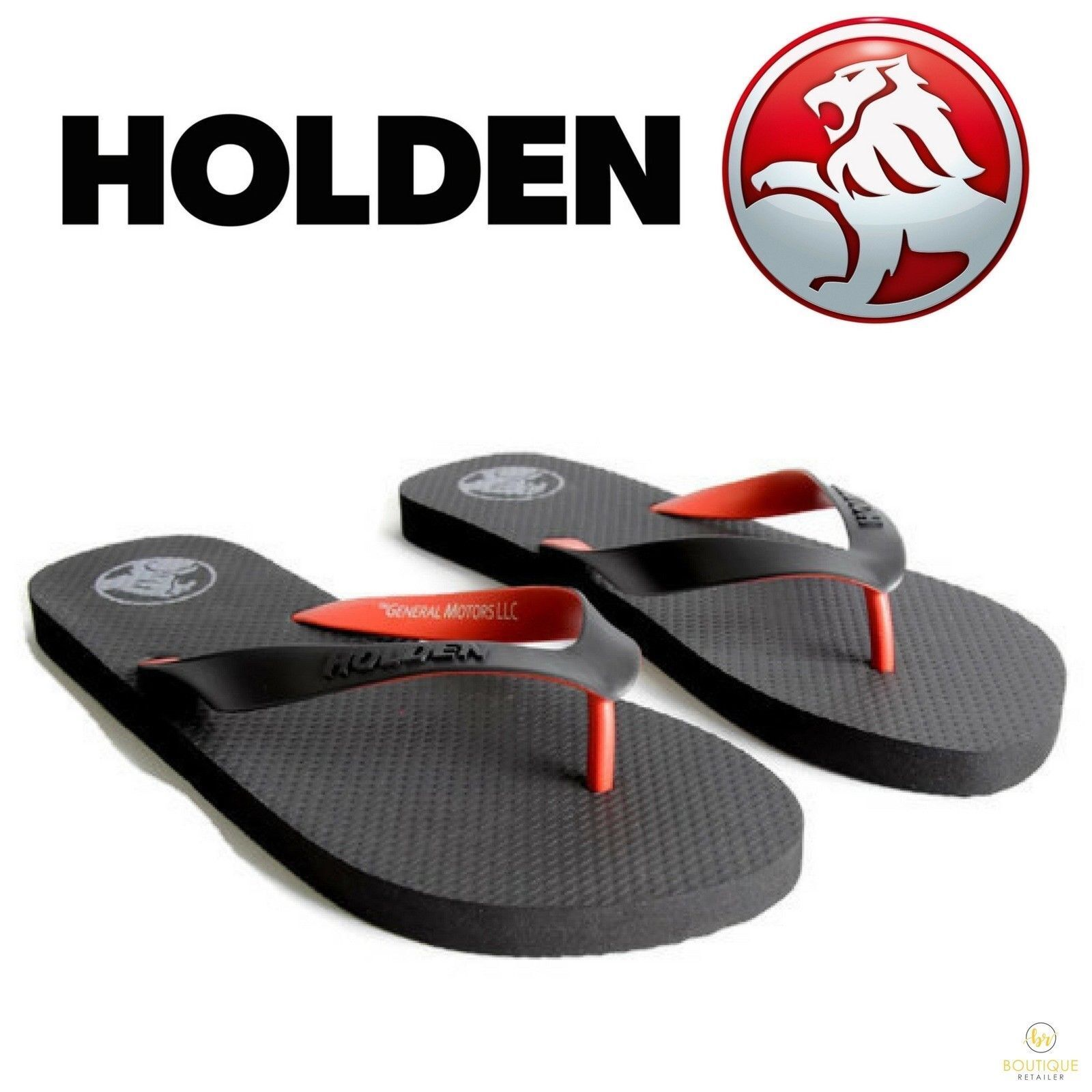 2cb5b3db8 h m s Remaining. HOLDEN Thongs Flip Flops Mens Womens Sandals Shoes  OFFICIAL Slippers New