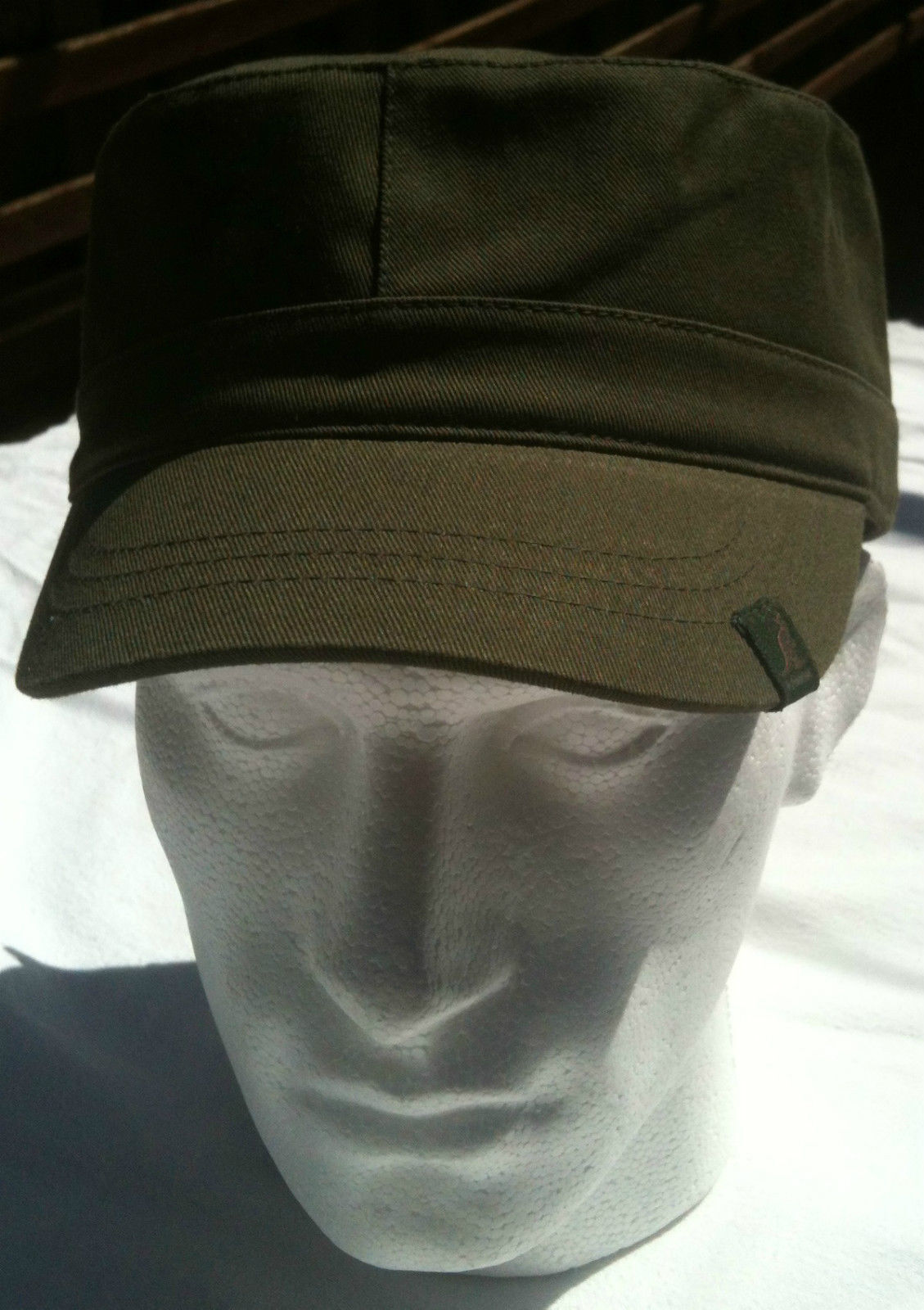 5c0a3ff3 KANGOL 100% Cotton Adjustable Army Cap Military Style Cadet Hat 9642BC Men's