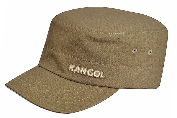 KANGOL Denim Army Cap Flexfit Military Cadet Patrol Style Baseball Hat  5067BC