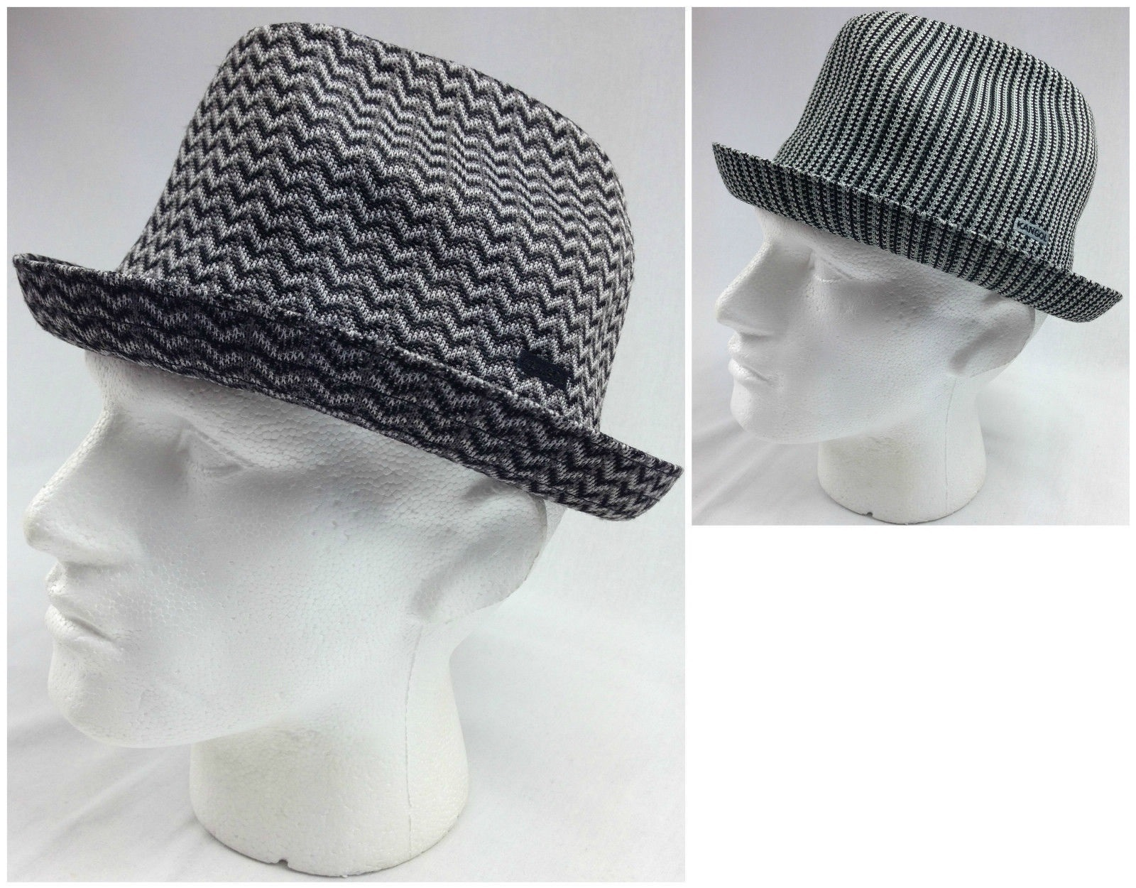 KANGOL Jacquard Player Trilby Hat K0242CO Tropic Fedora Style with ... 9564461667a