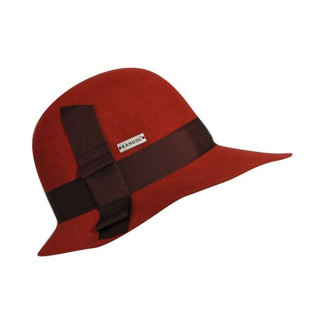c306ffb4938 KANGOL Tail Asymmetrical Diva Womens Hat Water Resistant MADE IN USA ...