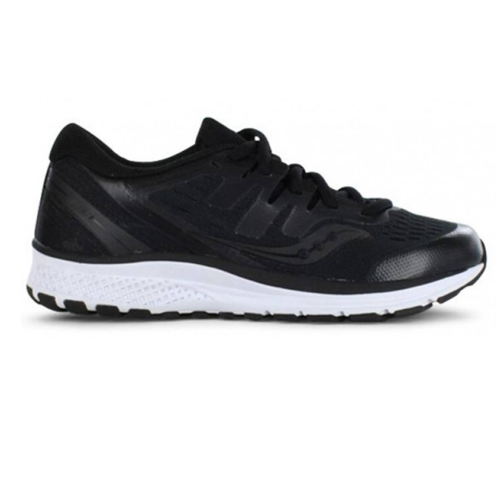 c78f53e7d2 Saucony Kids Youth S GUIDE ISO 2 Sneakers Runners Medium Width Boys -  Black/White