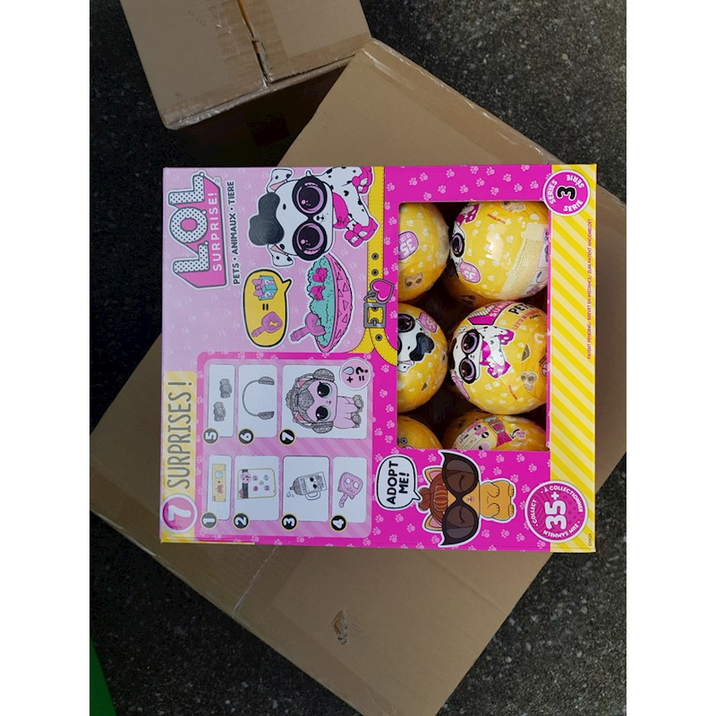 Lol Surprise Pets Doll Assorted Series 3 Lol Wave 2 Full Box Of