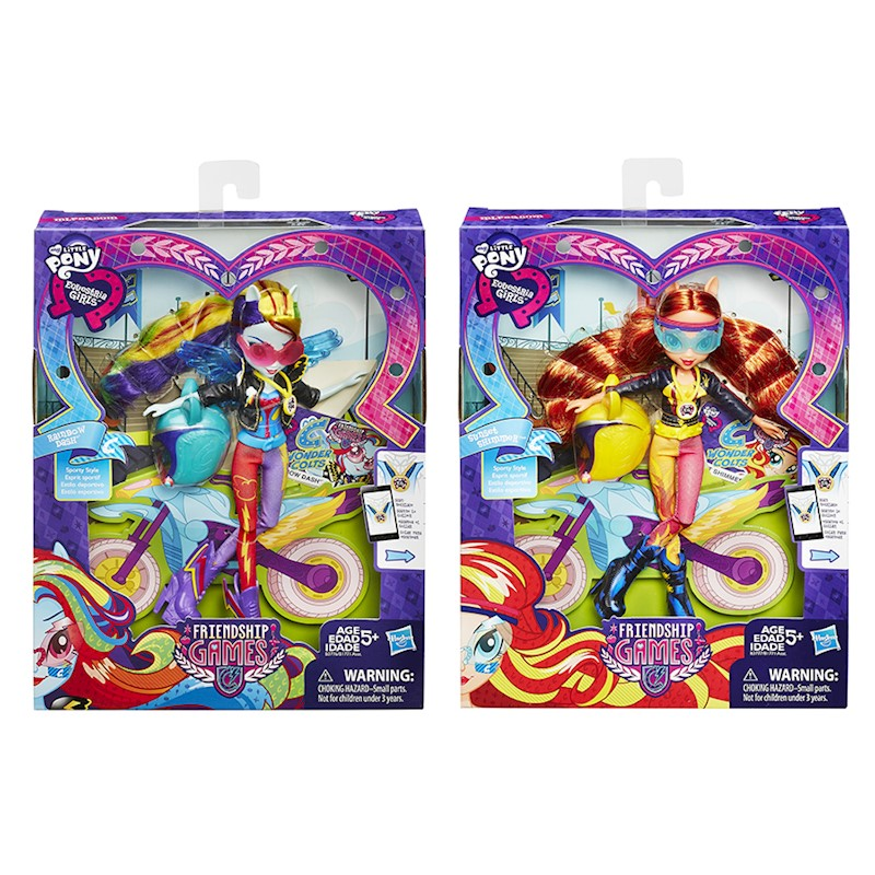 d3b1454f1b22d My Little Pony Equestria Girls Wondercolts - Rainbow Dash / Sunset Shimmer