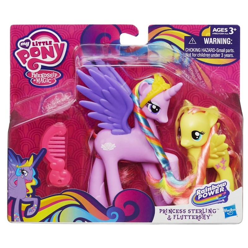 My Little Pony G4 Princess Sterling and Fluttershy Figures