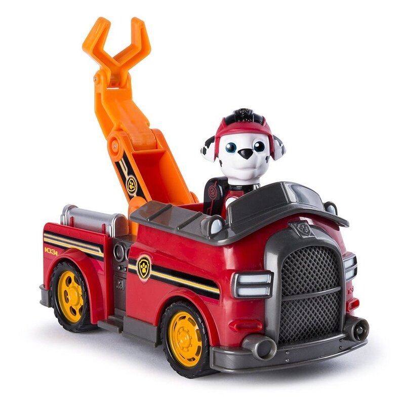 Paw Patrol Vehicle Mission Paw Marshall S Mission Fire Truck