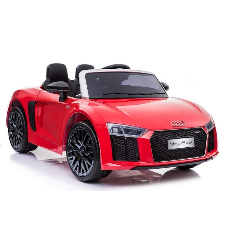V Licensed Audi R Electric Ride On Toy Car For Kids Red Buy - Audi electric toy car