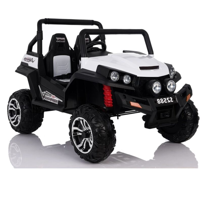 4x4 Beach Buggy Electric Ride On Toy Car For Kids White