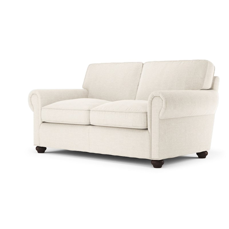 Charlotte 2 Seater Sofa In Classic Cream Buy Couches 371483