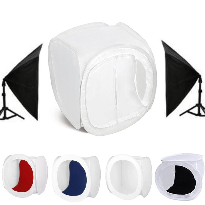 30x30x30cm Portable Photo Studio Photography Light Box Lighting