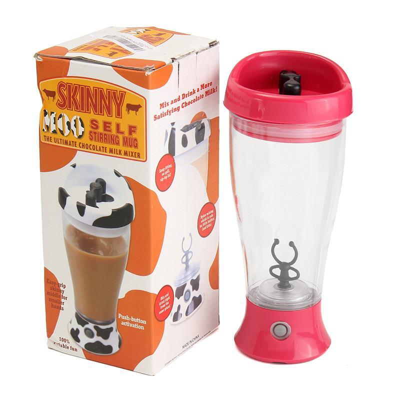 350ML Electronic Protein Shaker Blender Automatic Fitness Mixer ...