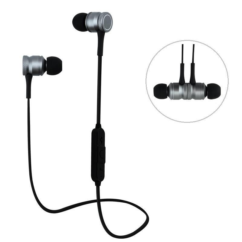 27ec78e7583 Bakeey H5 Wireless Bluetooth Earphone Magnetic Adsorption Bass Headphone  for iPhone Samsung Xiaomi