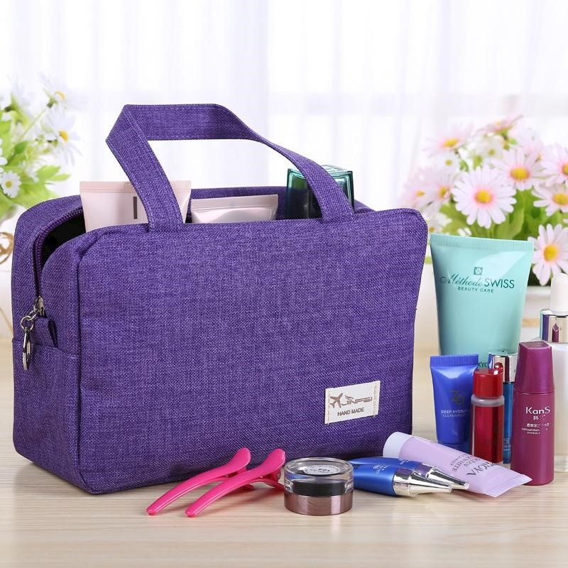49203ca71ba3 h m s Remaining. Honana HN-TB13 Travel Toiletry Organizer Large Cosmetic  Shaving Kit ...
