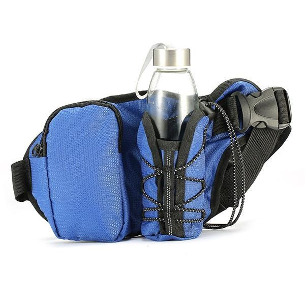 f772092bc765 h m s Remaining. KCASA KC-BC07 Running Cycling Waist Water Bottle Carrier  Belt Bag Travel Sport ...