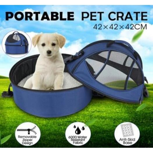 Portable Pet Carrier Dog Bed Detachable Cat Cage Travel Bag  fa590e859a59