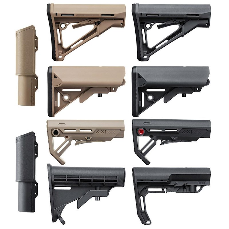 Tactical Toys Gel Ball Blasting Buttstock Water Bullet Modified Accessories
