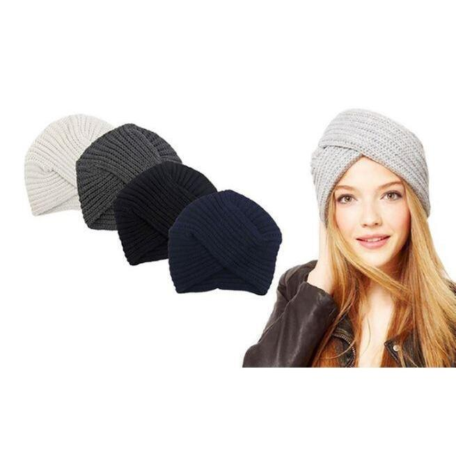 h m s Remaining. Women s Knitted Turban Hat 50263cc0d593