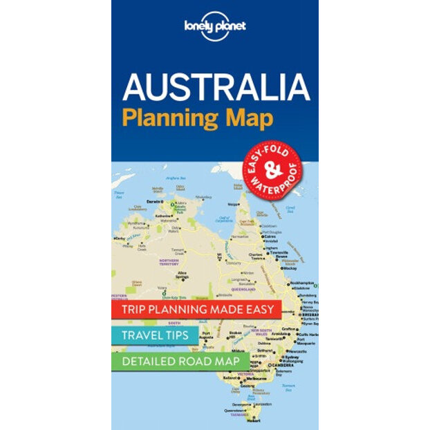 Map Of Australia To Buy.Australia Planning Map Lonely Planet Country Map