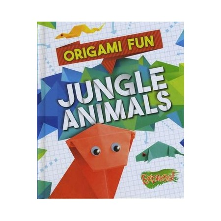 Jungle Animals Origami Fun Buy Young Adults Kids Books