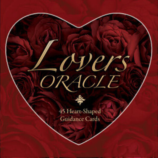 Lovers Oracle Deck New Ed Heart Shaped Fortune Telling Cards