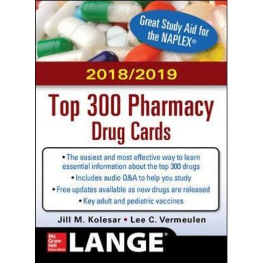 McGraw-Hill's 2018/2019 Top 300 Pharma Drug Cards