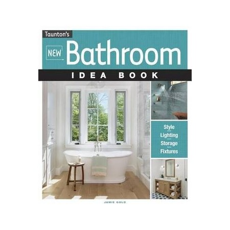 New Bathroom Idea Book | Buy Lifestyle & Fashion Books on new claw foot tub surrond, new art, new bathtub, new bedroom, new shower, new interior, new sink, new building, new cabinets, new pool, new porch, new gym, new toilet, new appliances, new furniture, new plumbing, new garage, new countertop materials,