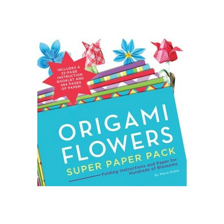 Origami flowers super folding instructions and paper for hundreds h m s remaining mightylinksfo