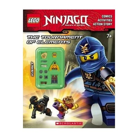 The Tournament of Elements (Lego Ninjago : Activity Book with Minifigure)