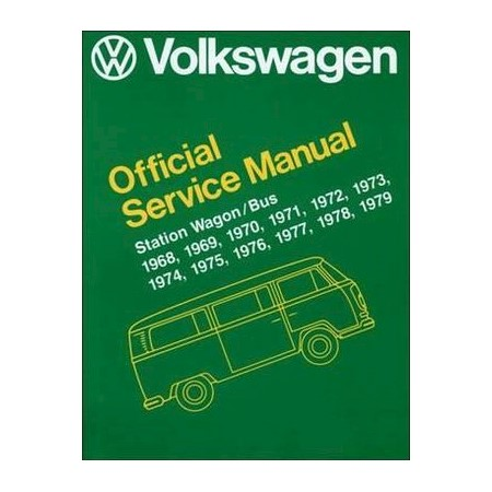 volkswagen station wagon bus official service manual type 2 1968 rh mydeal com au VW Mechanic VW Mechanic