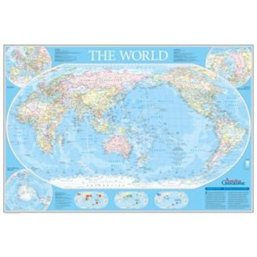 Buy Map Of Australia.World Map Australia Centred Fold Out Buy Earth Environment
