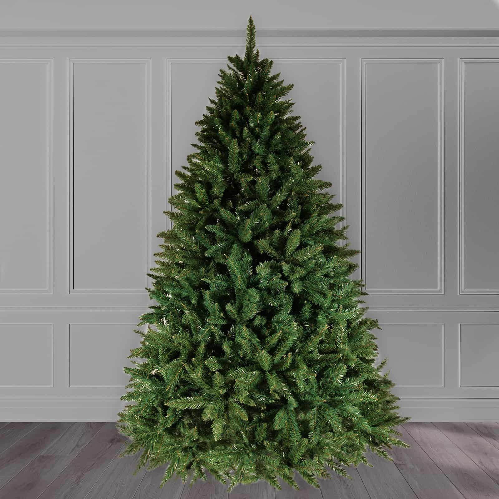 9ft Christmas Tree.9ft Christmas Tree Green Bavarian Premium Pine Hinged 3810 Tips