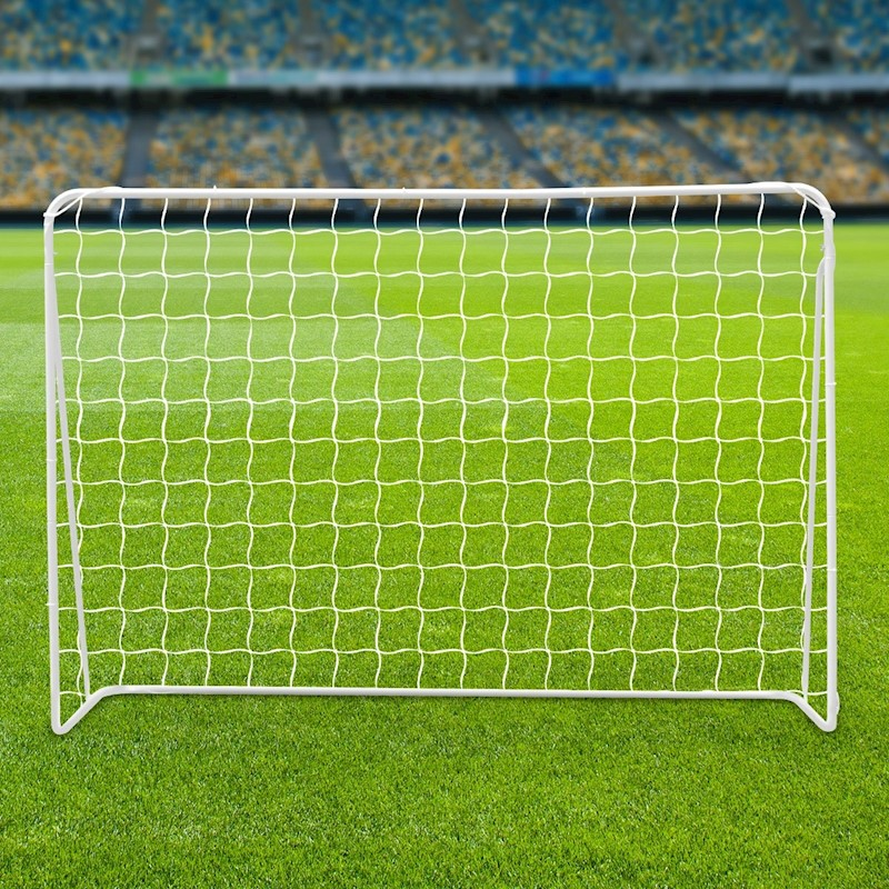 2.15M Steel Soccer Goal With Football Net