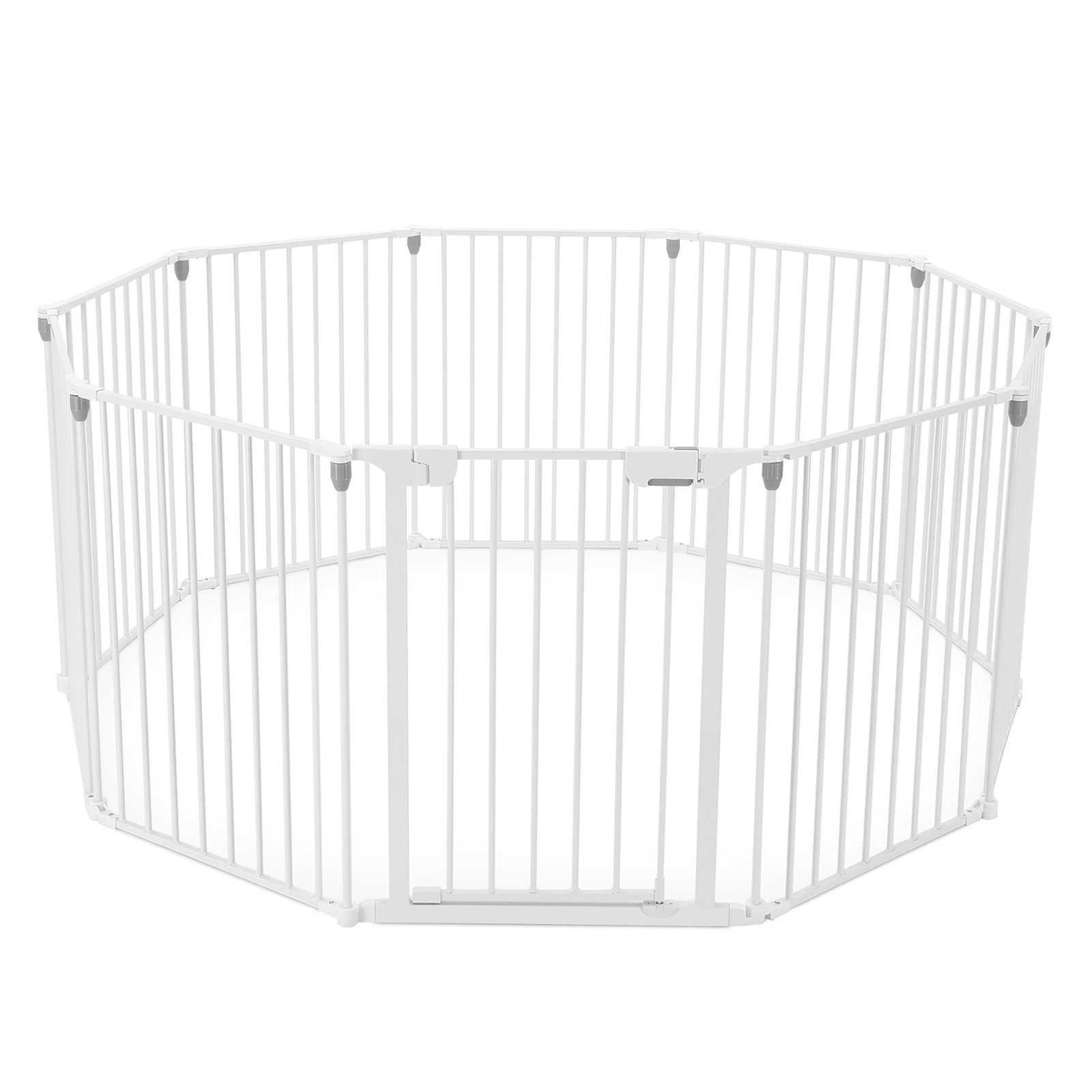 3 In 1 Baby Playpen 10 Panel Toddler Kids Safety Gates Interactive