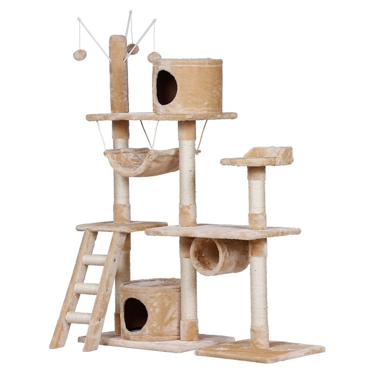 c8fc91802654 150CM Large Cat Tree Gym House Scratching Post | Buy Cat Scratching ...