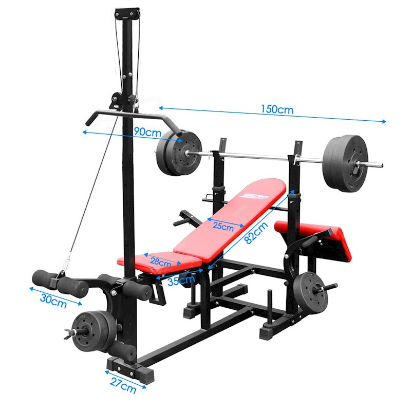 Genki Multi Station Adjustable Weight Bench Buy Multi