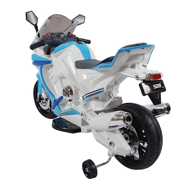 Kids Motorcycle Ride On Motorbike Toy Electric Car W/Built