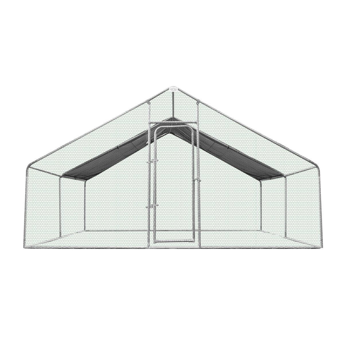 New Large Chicken Coop Metal Guinea Pig House Rabbit Hutch Outdoor ...